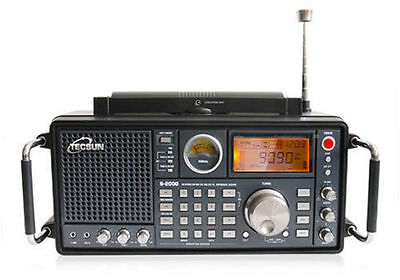 Tecsun S2000 Radio FM/LW/MW/SW SSB Air PLL Synthesized World Band Receiver