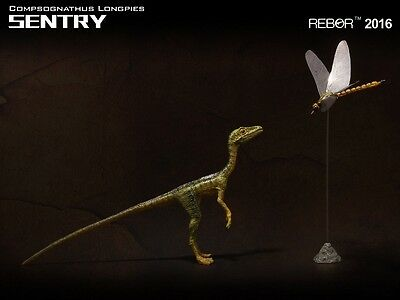 "Rebor 1:6 Compsognathus longipes Spitzname ""Sentry""*"