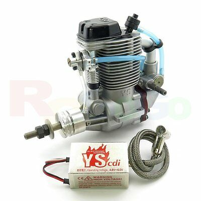 YS DZ175 CDI Direct Injection 4-stroke Glow/Nitro RC Airplane Engine # YSA0420