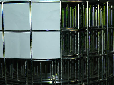 Aviary Wire Stainless Steel (V2a) 1x1m/38, 1x38, 1mm 3,0mm Wire Gauge