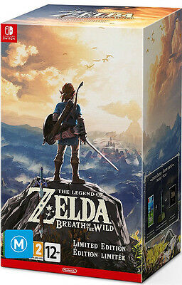 The Legend Of Zelda: Breath Of The Wild Limited Edition  - game - BRAND NEW