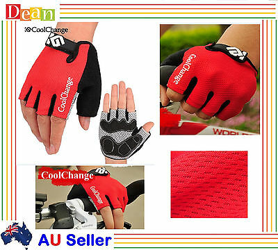 Bicycle Bike Cycling Gloves Sport Fingerless Antiskid Mittens Riding Racing New