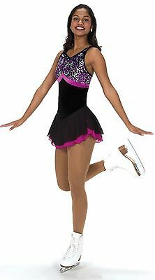 Jerry's 211 Nice at night figure skating dress -senior -FREE P&P-NEW LOWER PRICE