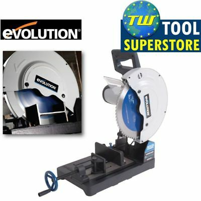 "Evolution EVO355 355mm Raptor TCT Steel Cut Off Saw 110V - 14"" EVO Chop Saw"