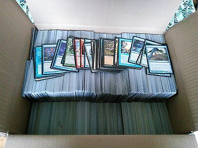 *MRM* LOT +5000 Cartes magic 100 Rares 500 unco 500 terrain 4000 communes MTG