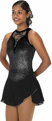 Jerry's 233 Lace drop figure skating dress - senior - FREE P&P -NEW LOWER PRICE