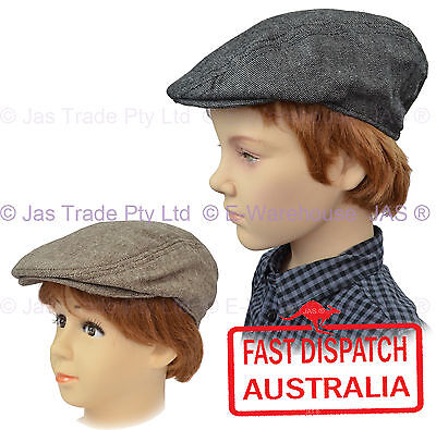 KID Child Page Boy BASEBALL WEDDING IVY GOLF FLAT NEWSBOY Pageboy CAP HAT