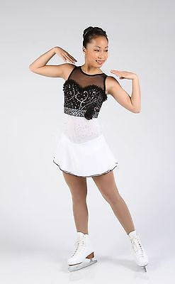 Elite Xpression XP1620 figure skating dress - junior 12-14 - NEW LOWER PRICE
