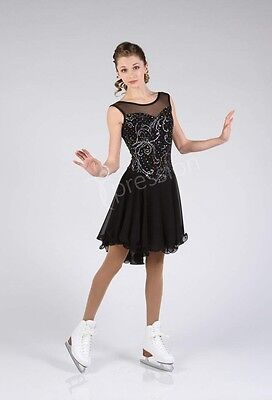 Elite Xpression XP1645 figure skating dress - senior S or L - NEW LOWER PRICE