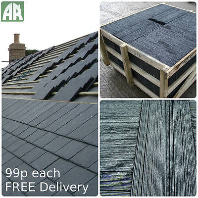 Cabello Roof Slates | Slate Roof Tiles | Spanish A1 S1 T1 | 40x25cm