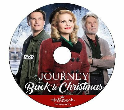Journey Back To Christmas.Journey Back To Christmas 2016 Dvd Hallmark Movie No Case Art Disconly