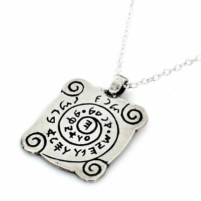 Sterling Silver Mystical Kabbalah Decision Thought Mind Improvement Amulet Charm