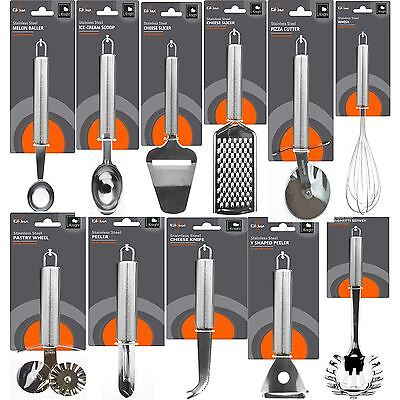 Cooking Utensils Silver Stainless Steel Kitchenware Accessories Tools Gadget Set