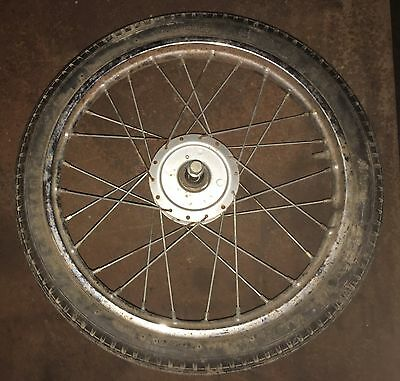 YAMAHA QT50 FRONT Wheel Rim And Tire