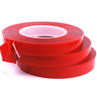10M/30M Double Sided Strong Adhesive Clear Transparent Tape 4/5/10/15/20mm