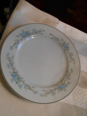 1 Royal Court Fine China of Japan Blue Fantasy Salad Luncheon Plate 7 3/4""