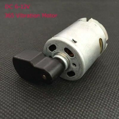 DC 6-12V Mini Micro 365 Vibration Motor Carbon Brush DC Motor for Massager DIY