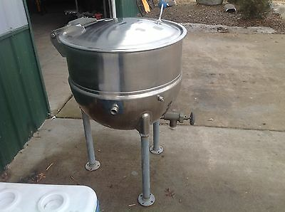 Stainless Steel Army 30 Gallon Steamer