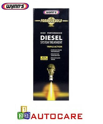 Wynns High Performance Diesel System Treatment Triple Action Gold Formula