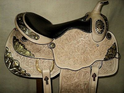 royal western tack trail show leather horse pleasure high quality saddle cinch
