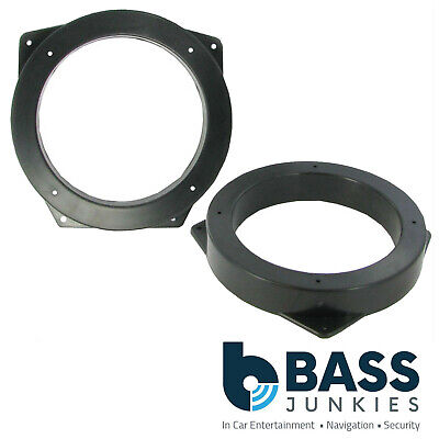 "BMW E46 3 Series Compact 130mm 13cm 5.25""  Front Door Car Speaker Ring Brackets"