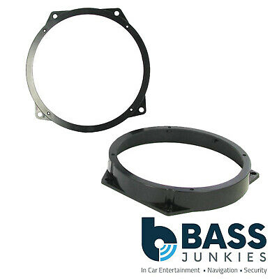 "BMW E46 3 Series Compact 165mm 17cm 6.5"" Front Door Car Speaker Ring Brackets"