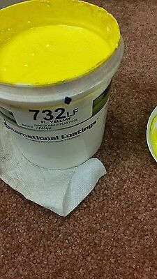 Fluorescent yellow Ink Quart for screen printing