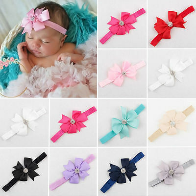 10/20 Pcs Kids Girl Baby Toddler Bow Flower Headband Hair Band Accessories