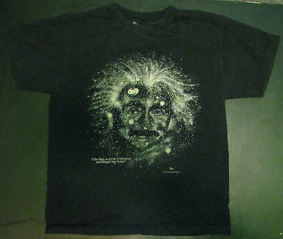 Albert Einstein Glow in the Dark T-Shirt Kids 14-16 Large