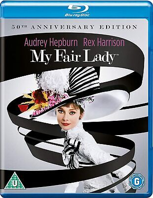 My Fair Lady (Audrey Hepburn) 50th Anniversary Edition Blu-Ray BRAND NEW