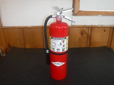 NEW Fire Extinguisher, 10 lb. Capacity, Dry Chemical, B456, Amerex (P)