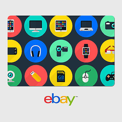 eBay Digital Gift Card - Electronics Themed - Fast email delivery
