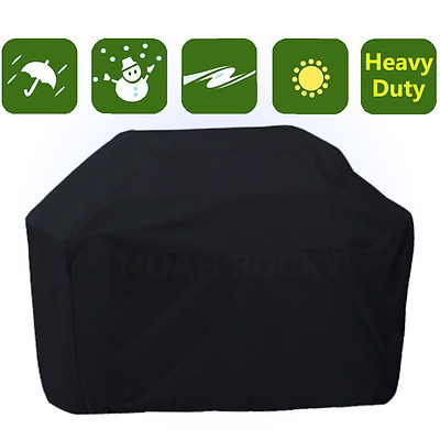Heavy Duty BBQ Cover Waterproof Gas Barbecue Grill Protector In & Outdoor Patio