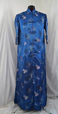 Vintage New Poeny Women's Silk Brocade Robe - Shanghai - New w/ Tags - 38 / M