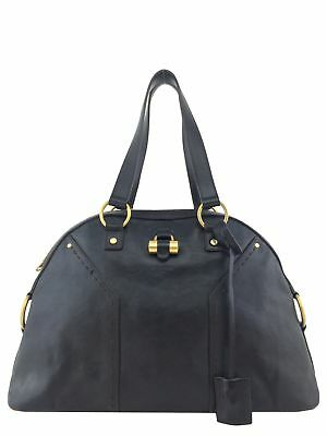 Yves Saint Laurent Leather Large Muse Bag