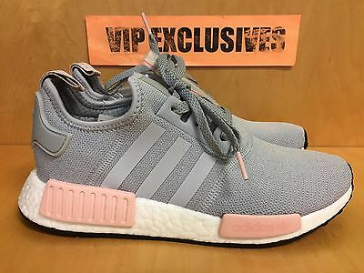 save off 4f351 f0e49 ADIDAS NMD R1 W Grey Vapour Pink Light Onix Women's Nomad Runner BY3058  LIMITED