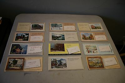 Advertising Blotter Lot of 12 Assorted Provident Mutual Life Insurance Company