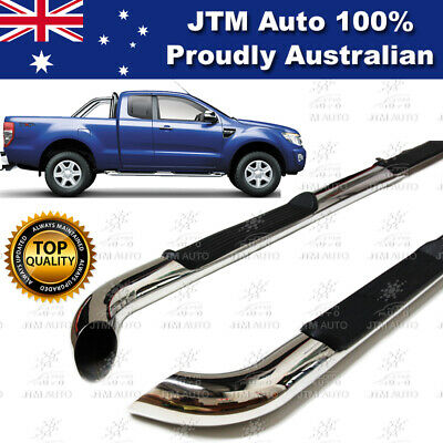 Ford Ranger Extra Cab Super Cab Running Boards Side Steps Stainless Steel 12-17