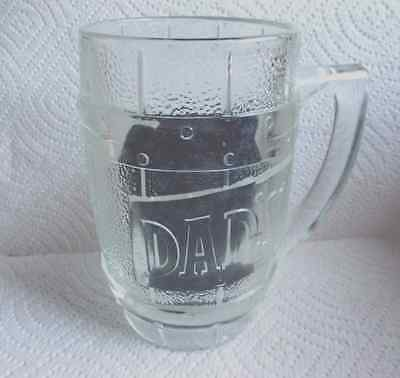Dad's Rootbeer Mug Heavy Thick Glass