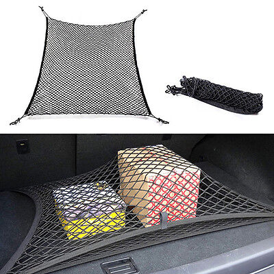 Universal Car Trunk Rear Cargo Organizer Storage Elastic Mesh Net Holder Great