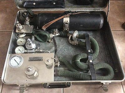 Vintage MSA  Pneolator, Vintage 1950's Medical , Fire Dept. Equipment