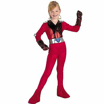 Clover Girls Costume Small-Totally Spies Kids Costume