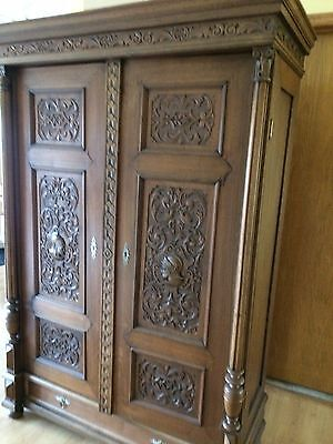 Antique Royal Style Armoires Wardrobes Closet