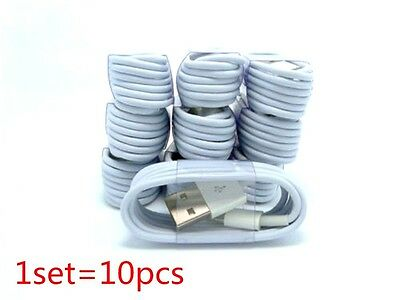 LOT 10 USB Data Sync Charging Cord Cable for iPhone 5 5c 5S 6 6s 7 plus 8 Pin