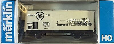 Marklin HO - 4680 - 1988  Museum Wagon - VERY RARE -  Excellent  Mint Condition