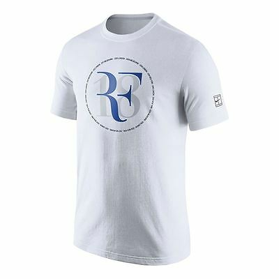 Nwt Nike Rf Federer 18 Celebration Tennis Tee (White) Ah5458-100. Limited Ed.
