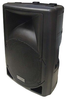"New 180W 12"" Woofer Professional Excellent Sound PA/DJ Moulded Speaker PP-0112"