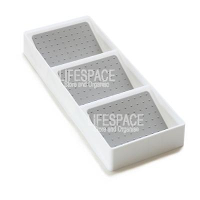 Spice Drawer Organiser for Spice Storage 3 Section NEW