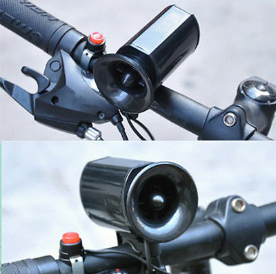Bicycle Ultra Ring Bell Air Electronic Bike Handlebar Alarm Horn Loud Cycling