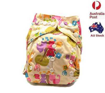 Adjustable Reusable Waterproof Modern Cloth Nappy Baby Boy Diaper Boyish (D155)